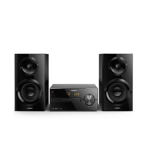 Micro-Hi-Fi-System Philips BTM2560/12 USB Bluetooth FM 70W Schwarz