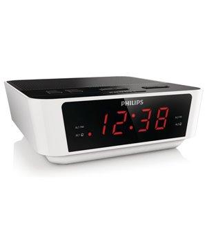 Radiowecker Philips AJ3115/12 LED FM 1W Weiß