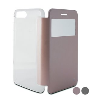 Handyhülle mit Folie Iphone 8 Plus/7 Plus Crystal View