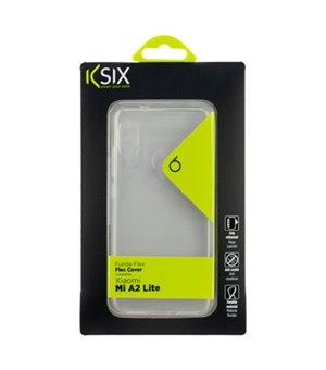 Handyhülle Xiaomi Mi A2 Lite Flex Durchsichtig