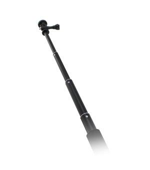 Selfie-Stab für die Sportkamera Schwarz