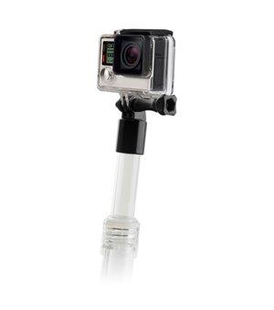 Schwimmender Selfie-Stab für die Sportkamera Durchsichtig