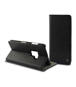Handyhülle mit Folie Galaxy S9 Plus Slim Schwarz