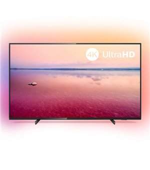 "Smart TV Philips 50PUS6704 50"" 4K Ultra HD LED WiFi Schwarz"