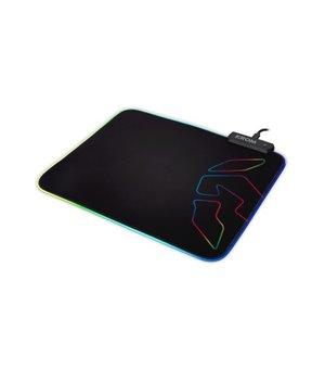Gaming Matte mit LED Krom Knout RGB (32 x 27 x 0,3 cm) Schwarz