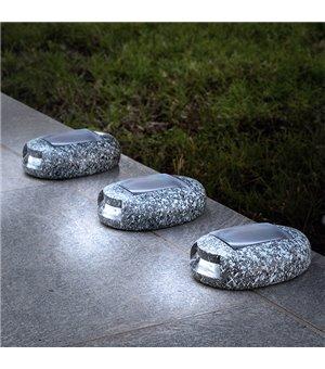 LED-Sonnenstein Garden (3Er pack)
