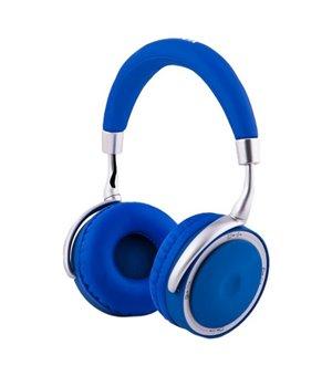 Faltbarer Haarreif Kopfhörer CoolBox COO-AUB-12BL 300 mAh Blau