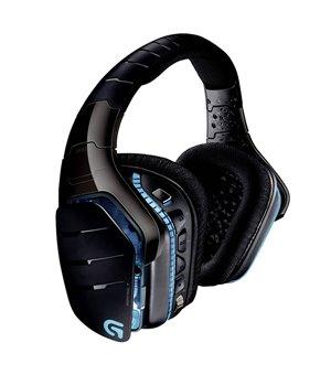 Gaming Headset mit Mikrofon Logitech 981-000599 USB Schwarz