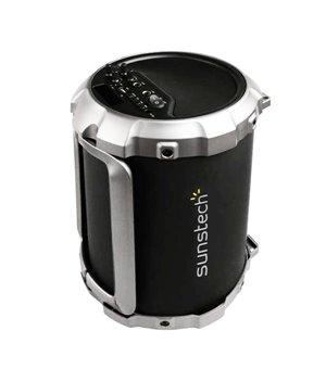 Tragbare Bluetooth-Lautsprecher Sunstech MASSIVE-S2BK 1800 mAh 21W Schwarz