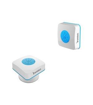 Bluetooth-Lautsprecher Sunstech SPBTSHOWER 500 mAh 3W Weiß Blau