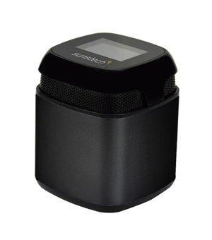 Tragbare Bluetooth-Lautsprecher Sunstech SPUBT710 600 mAh 3W Schwarz