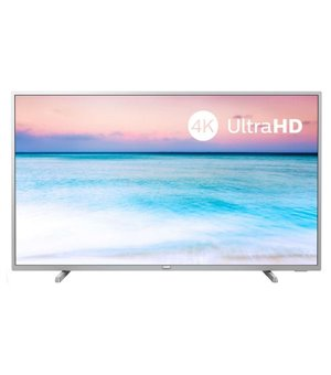 "Smart TV Philips 55PUS6554 55"" 4K Ultra HD LED WiFi Silberfarben"