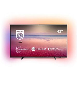 "Smart TV Philips 43PUS6704 43"" 4K Ultra HD LED WiFi Schwarz"