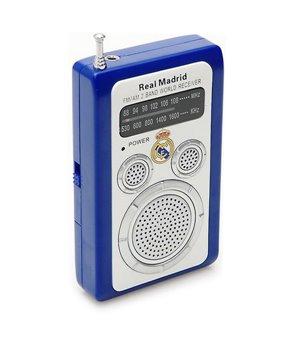 Transistor-Radio Real Madrid C.F. 714623 Weiß