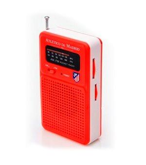 Transistor-Radio Atlético Madrid 714722 Rot