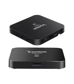 TV Player Android Sunstech 8 GB WiFi Schwarz
