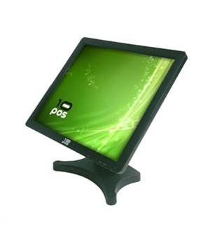 "Monitor mit Touchscreen 10POS TS-19V 19"" LCD Schwarz"