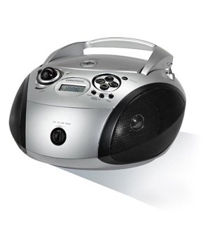 Radio/CD mp3 Grundig RCD 1445 USB 2.0 Silberfarben