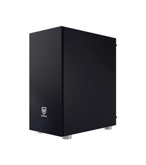 Gehäuse Semitour Mikro ATX / Mini ITX / ATX Nfortec Caronte Pro RGB Schwarz