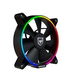 Ventilator Nfortec Oberon RGB (Ø 12 cm)