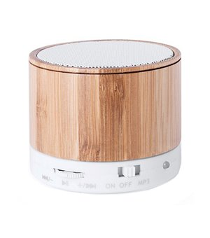 Drahtlose Bluetooth Lautsprecher USB FM 3W Bambus 146143