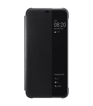 Buchumschlag Huawei Mate 20 Lite View Cover Schwarz