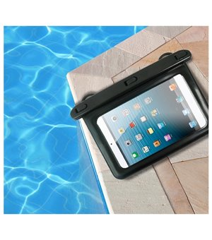 "Universal Tablet Hülle Waterproof 8"" Schwarz"