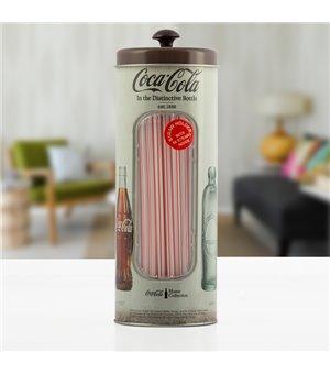OUTLET Coca Cola Vintage-Strohhalmspender (Ohne verpackung)