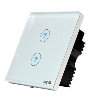 Smart-Schalter SPC Hemera 6204B WIFI 2.4 GHz Weiß