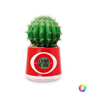 Blumenübertopf-Uhr Zweifarbig 144450