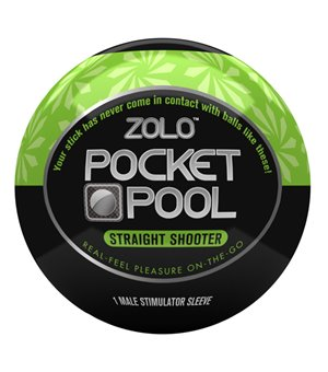 Pocket Pool Straight Shooter Masturbator Zolo ZOLOPPSTS