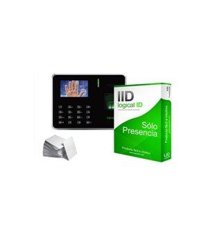 Biometrisches Zugangskontrollsystem LID LID05 Schwarz