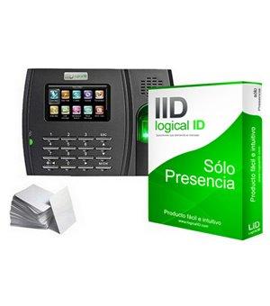 Biometrisches Zugangskontrollsystem LID LID50 Schwarz (50 Lizenzen)