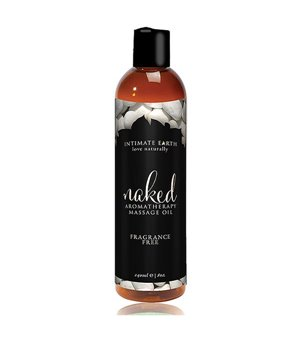 Naked Massageöl ohne Duftstoffe 240 ml Intimate Earth 6370