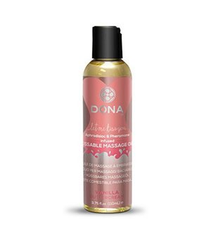 Massageöl Kissable Vanille Buttercreme 125 ml Dona 5383