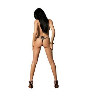 Luiza String mit Spitze...